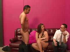 Chubby Kat Major gets fucked deep and hard in cuckold sex scene