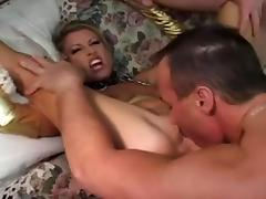 Sexy Mature in spandex gets DPd