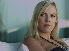 Hardcore FFM video with ooklyn Lee and Tasha Reign sharing a dick