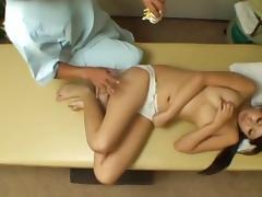 Asian OL fake massage 2